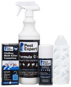 Pest Expert Clothes Moth Killer Kit for 1 Bedroom
